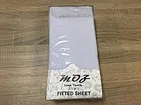 Простынь трикотажная на резинке 180х200+25 см Moz