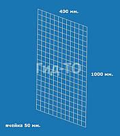 Сетка торговая (1000х400) ячейка 50 мм., фото 1