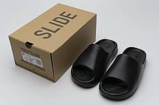 """Сланцы Adidas Yeezy Slide """"Черные"""", фото 2"""