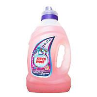 """Жидкое средство для стирки темных и трикотажных тканей,концентрат """"Защита и восстановление"""" Super Wash"""