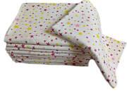 Пеленка фланелевая/байковая 110х90 Звёздочки цветные