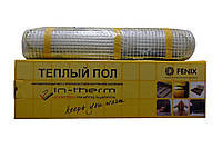Теплый пол In-therm 185 двухжильный мат 270 Вт/1.4 м2 (0.5х2.8 м) в стяжку (INT185270)