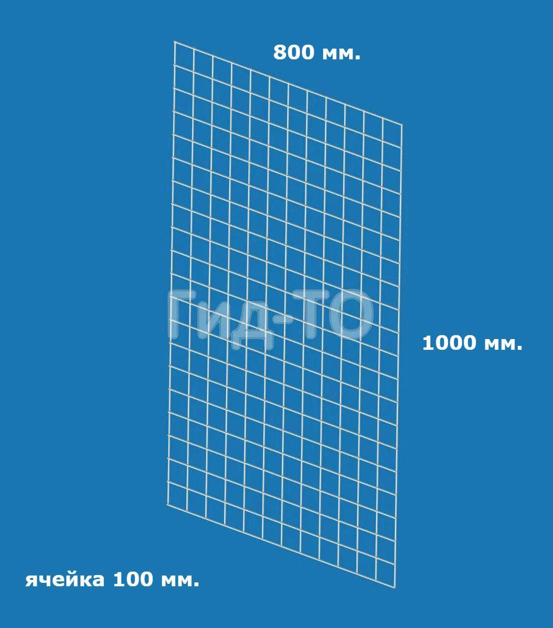 Сетка торговая (1000х800) ячейка 100 мм.