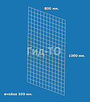 Сетка торговая (1000х800) ячейка 100 мм., фото 1