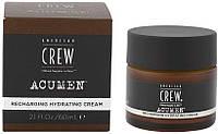 Крем для лица увлажняющий Recharging Hydrating Cream American Crew ACUMEN, 60 ml
