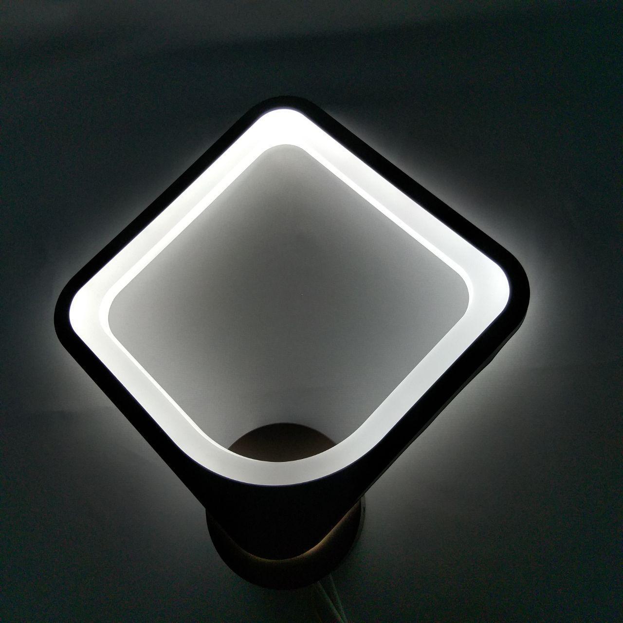 Бра ромб кофейное  LED 20-MX10005/1B 34W COF