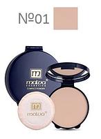 Пудра для лица компактная Compact Powder РМ2504 Malva Cosmetics 01