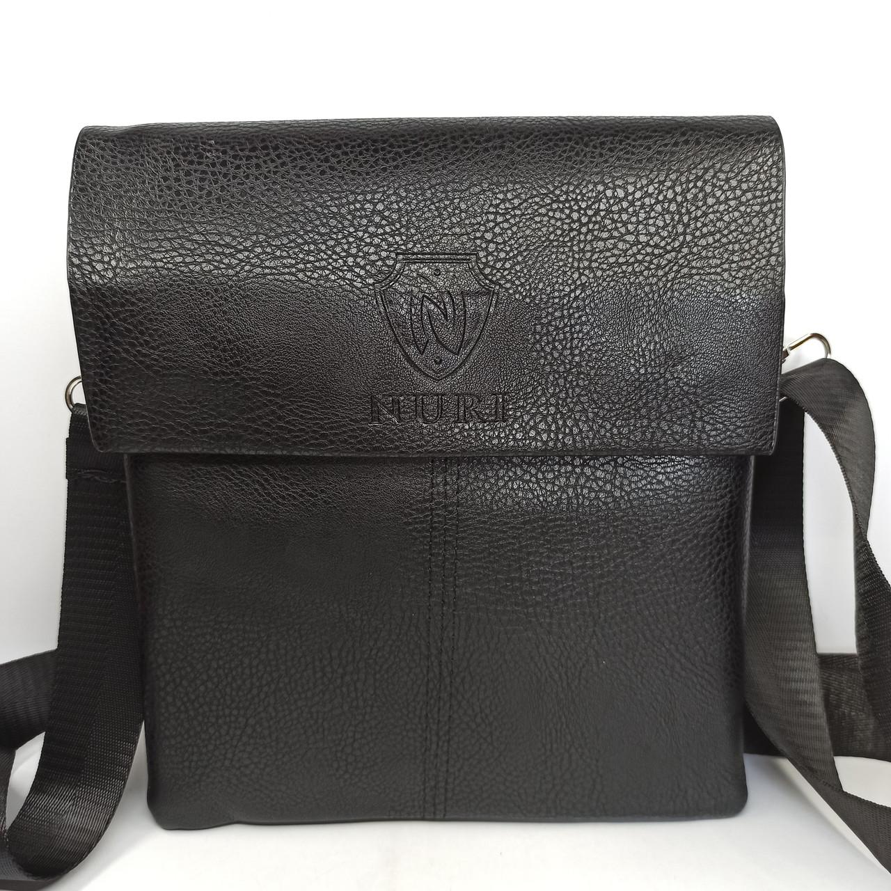 Шкіряна чоловіча сумка через плече / Мужская кожаная сумка через плечо PUB005