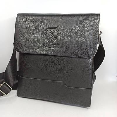 Мужская кожаная сумка планшет через плечо PUB006