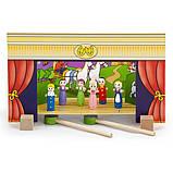 Деревянный игровой набор Viga Toys Магнитный театр (56005), фото 3