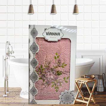 Полотенце Vianna Tovel Set 50 x 90 см Розовый