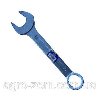 Ключ гаечный комбинированный 55х55 (цинк) (пр-во г.Камышин)