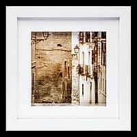 Оригинальная ретро картина в зал 23*23 B-81-23 (белый)
