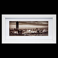 Картина ретро 18*33 B-78-06 (белый)