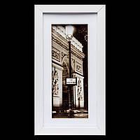 Картина на стену ретро стиль 18*33 B-78-09 (белый)