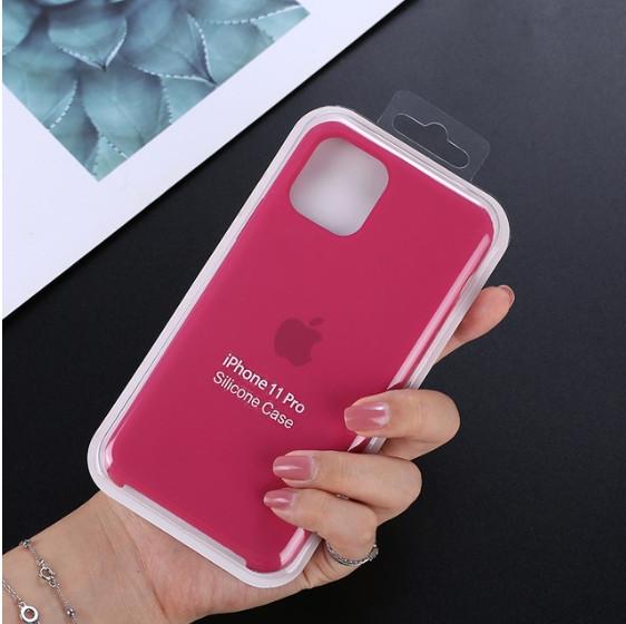 Чехол-накладка Silicone Case для Apple iPhone 11