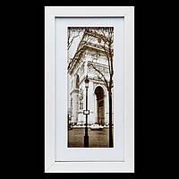 Фотокартина для интерьера черно белая ретро 18*33 B-78-16 (белый)