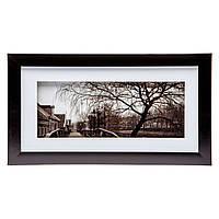 Черно-белая картина с ретро фотографией 18*33 B-78-21 (черный)