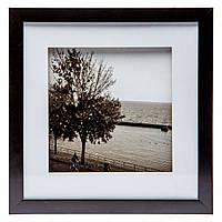 """Картина в стиле ретро 28*28 B-79-15 """"Дерево у водоема"""" (2 цвета черный, белый)"""