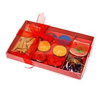 Ароматические конусы и чайные свечи набор сувенирный CS-05-1