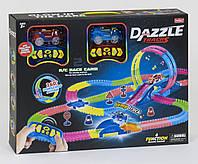 Детский автотрек с пультом управления Dazzle Tracks 138 (326 деталей)