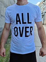 Мужская молодёжная футболка ALL OVER
