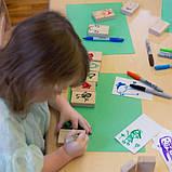 Набор блоков Guidecraft Block Play Рисование, 50 шт. (G6223), фото 6