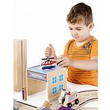 Набор грузовиков Guidecraft Block Play к Дорожной системе, 12 шт. (G6718), фото 4