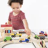 Набор грузовиков Guidecraft Block Play к Дорожной системе, 12 шт. (G6718), фото 7