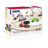 Набор грузовиков Guidecraft Block Play к Дорожной системе, 12 шт. (G6718), фото 8