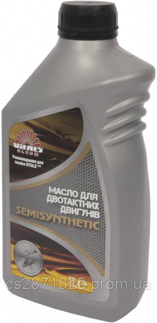 Масло для двухтактных двигателей Vitals Semisynthetic 1л
