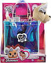 Собачка Chi Chi Love Чихуахуа Фешн Шиммер в сумочке и в платье Simba 5893432, фото 4