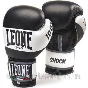 Боксерские перчатки Leone Shock Black 14 унций