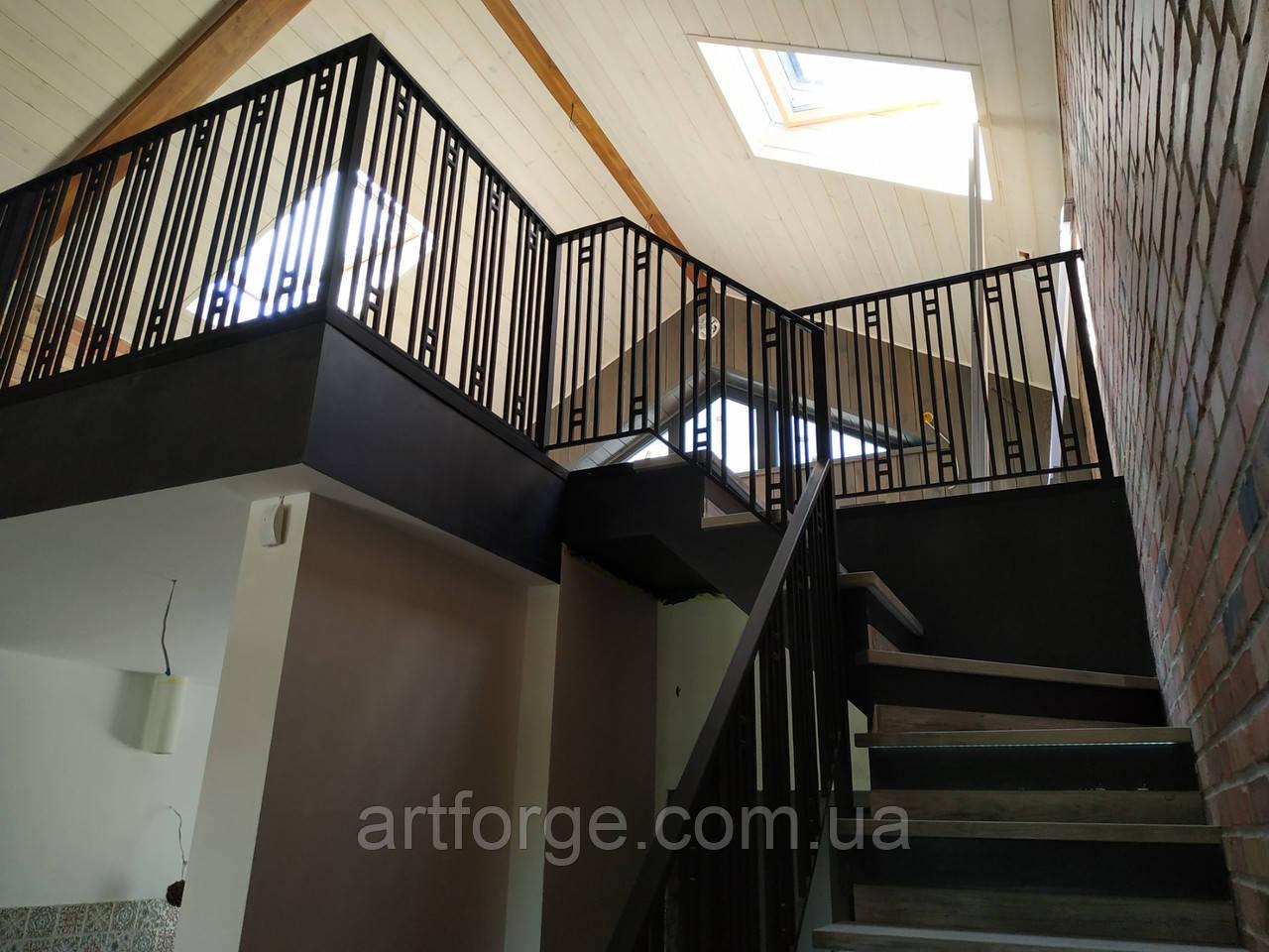 Ограждение из металла для террасы, лестницы, балкона.