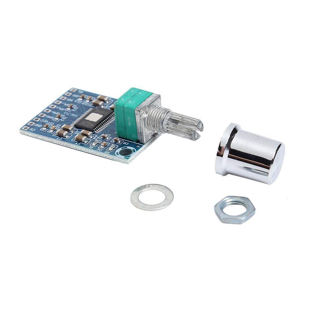 Усилитель звука 2х50W класс D, плата на микросхеме TPA3116D2 с регулятором громкости
