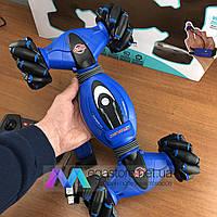 Трюковая машинка багги перевертыш Double Sided Stunt Car вездеход на радиоуправлении браслет на руку