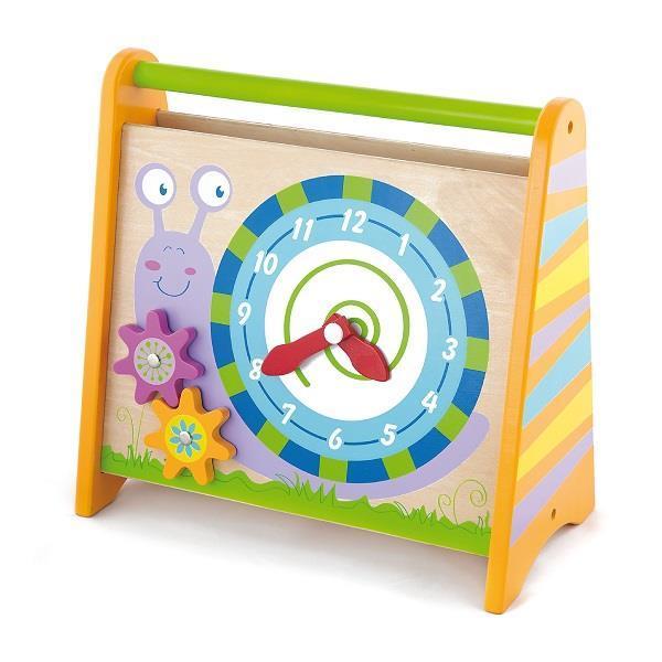 Деревянная игрушка Viga Toys Часы и лабиринт (50063)