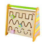 Деревянная игрушка Viga Toys Часы и лабиринт (50063), фото 2