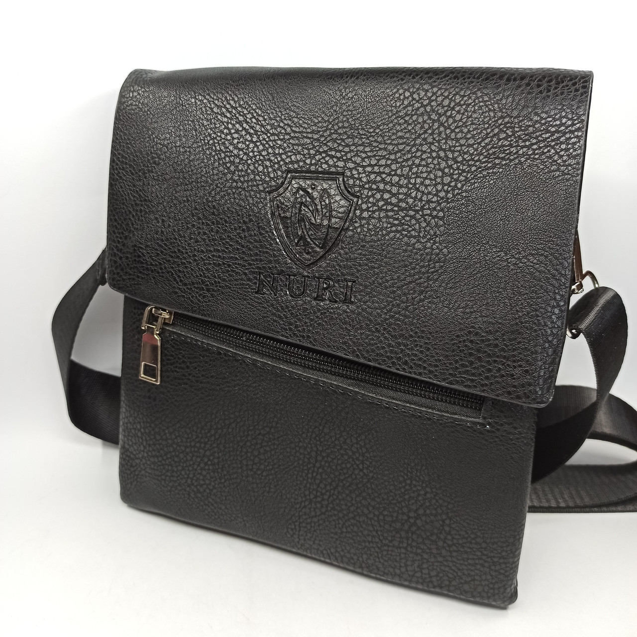 Шкіряна чоловіча сумка через плече / Чоловіча шкіряна сумка через плече PUM007