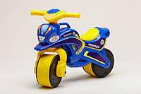 Беговел Active Baby Police Сине-желтый