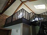 Ограждение из металла для террасы, лестницы, балкона., фото 2