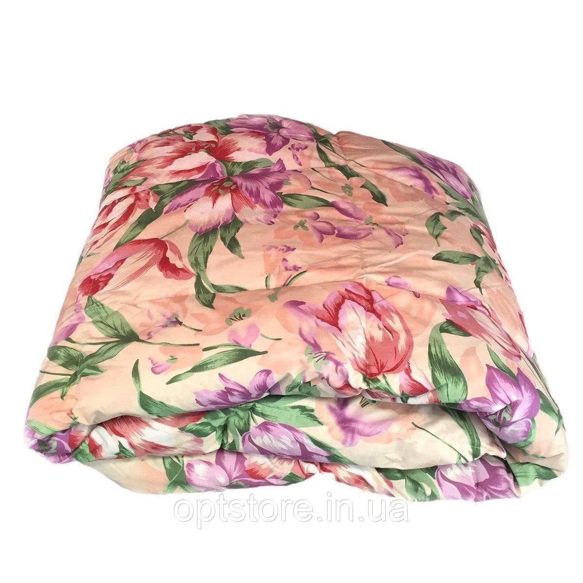 Одеяло двуспальное натуральный пух перо 170*205,ткань тик