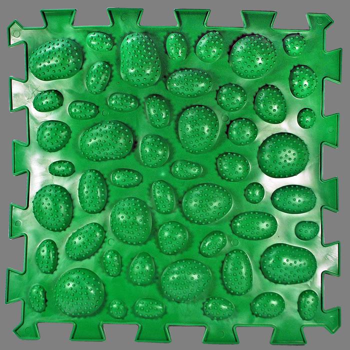 Массажный  коврик  Пазлы Микс Ежик 1 элемент