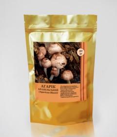 Агарик Бразильский гриб - из самых известных и эффективных противоопухолевых грибов (10гр.,Украина)