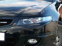 Накладки на фары Honda Accord 7, Реснички Хонда Аккорд