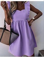 Платье Турция Новая коллекция сиреневое XL