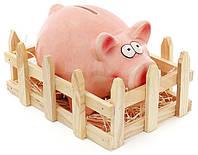 Статуэтка-копилка Bona Веселая свинка с оградой керамическая psgBD-971-721, КОД: 1132450