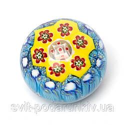 Пресс для бумаг (венецианское стекло в стиле мурано) 1 (4 расцветки)