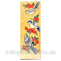 """Панно из керамики №4-1 прямоугольное """"Птицы"""""""