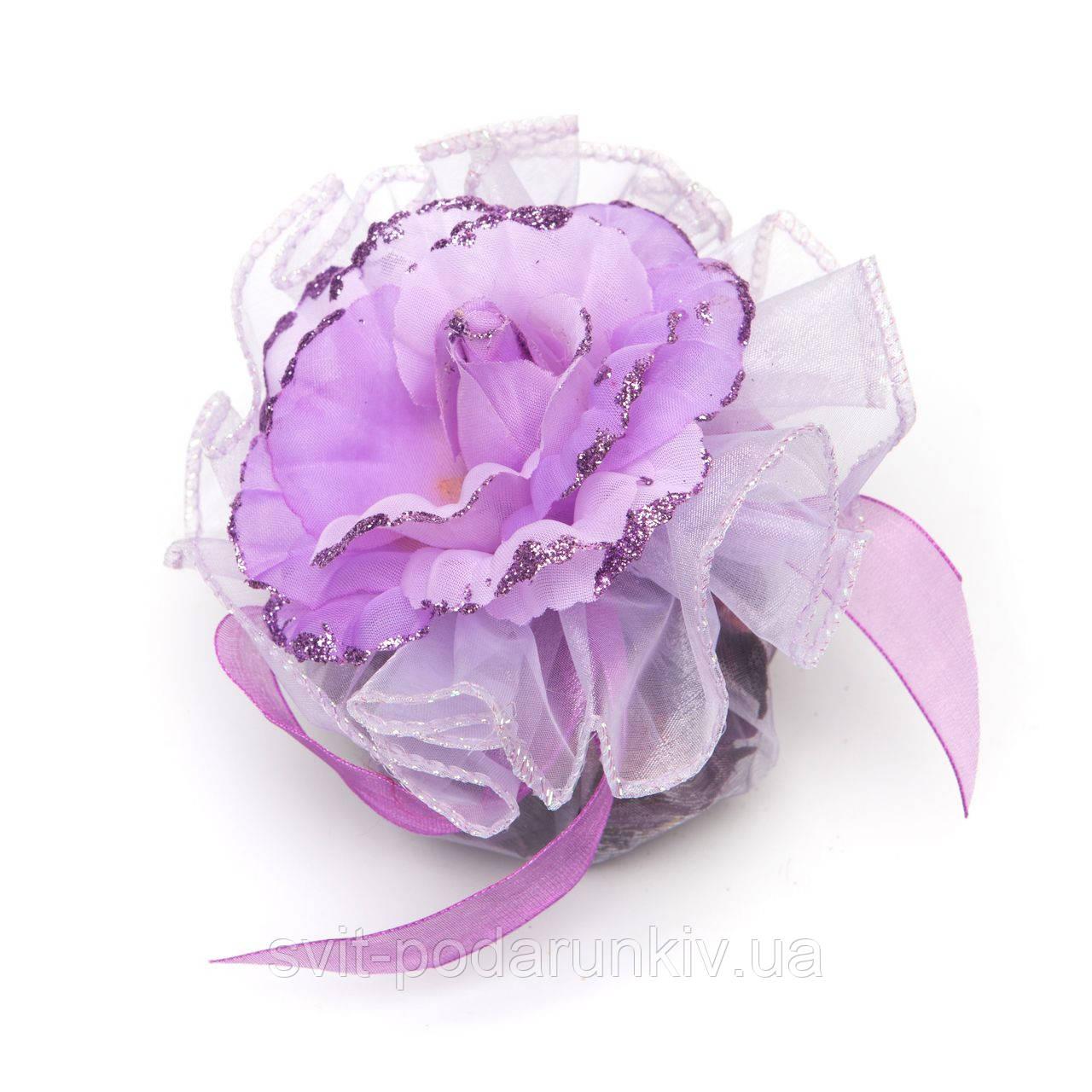 Тканевый цветочек